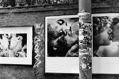 Love is beautiful (laetitia.delbreil) Tags: loveisbeautiful poster manifesto photo affiche monochrome film pellicule pellicola pelcula argentique analogue analogico anlogo analogsoul blackandwhite blancoynegro nb bn bw noiretblanc pentacon prakticab200 35mm slr singlelensreflex prakticar50mm118 streetphotography outdoor bologna italia ifeelfilm filmisawesome kiss baiser beso bacio filmisback filmisnotdead believeinfilm jesuisargentique