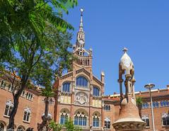 Hospital de la santa creu i Sant Pau, Barcelona (Salvatore Carta) Tags: barcelona barcellona spain espana spagna sony sonya6000