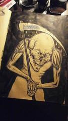 (ink.normal) Tags: drawing sketch ink tattoo skinhead skull bone reaper dark artwork design tshirt shirt cover heft book artist black gearporn gear poster flyer graphic graphics art