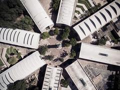 Geometrics (eDamak) Tags: aerial top shot dji inspire1 drone above building sanluispotosi mexico slp artes diseo centro photography edamak moirafilms