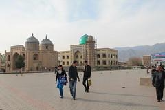 Plaza, Khojand, Tajikistan (Boonlong1) Tags: city travel urban asia citylife cities tajikistan centralasia khojand