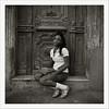 Seven Days in Havana (oscarparadela.com) Tags: street portrait blackandwhite black girl beauty analog vintage skin havana cuba ishootfilm nails bronica hp5 rodinal habana ilford sqai filmisnotdead zenzanon ps80