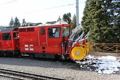 2015-03-03, MVR, Glion Dpt (Fototak) Tags: train switzerland 4 railway treno crmaillre mvr zahnradbahn chasseneige schneeschleuder schmalspurbahn