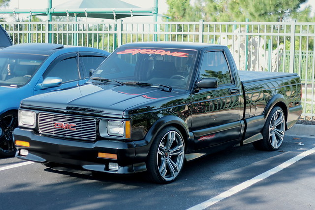 black classic cars coffee up car orlando gm turbo pick rare gmc syclone