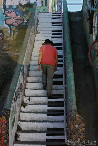 Keyboard Player in Valpo - Chile
