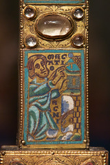 Blood of the Passover Lamb (Nick in exsilio) Tags: brussels blood cross belgium letter lamb tau romanesque crucifixion exodus meuse typology passover enamel paschal