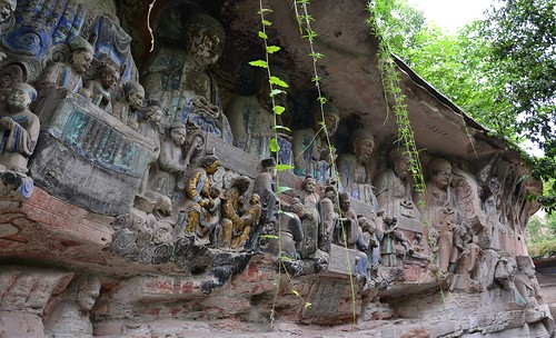 Dazu, Baodingshan,  Rock Carvings