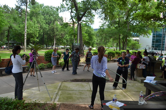 UT System Physical Activity Challenge Kickoff 2015