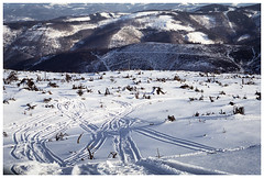 *** (Spartaxus) Tags: winter me analog fuji pentax superia poland super beskidy skrzyczne