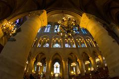 Notre dame (inside) (asier pagoaga) Tags: paris church iglesia notredame fisheye spiritual