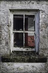 Parable of the broken window... (Hans Kool) Tags: old ireland house broken window glass oud glas raam parable refurbishment ierland scherven geluk verlaten vervallen abandonened irelandierland gebrkoen