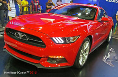 2015 Ford Mustang (Next Base  Taishi) Tags: world city ford autoshow center international santos manila mustang trade pasay 2015 czeon