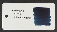Noodler's 54th Massachusetts - Word Card