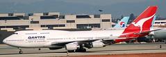 Boeing 747-438 VH-OJC (707-348C) Tags: california usa losangeles passenger boeing lax qantas boeing747 airliner jetliner thehill klax b744 vhojc