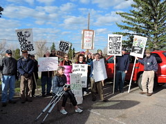 DSCN6605 (WildEarthGuardians) Tags: protest wyoming climate publiclands leasing oilandgas fracking keepitintheground