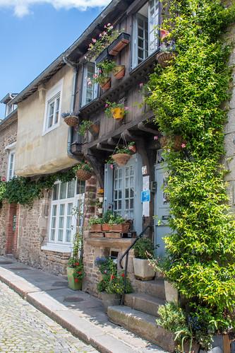 Rue de la Boulangerie à Dinan