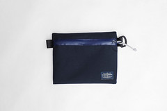 Flat Pouch Blue 02 (Imagery Bags) Tags: zipper ykk waterresistant flatpouch drypouch
