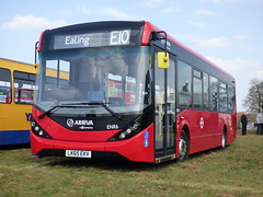Arriva London ENR6 LK65 EKV (Glenn De Sousa) Tags: county bus london festival kent south east dartford arriva thameside 2016 showground detling enr6