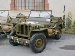 Willys, truck 1/4 ton 4x4 (Willys MB 201) (tats-Unis, aot 1957) (Cletus Awreetus) Tags: jeep 4x4 vhiculetoutterrain automobileancienne voituredecollection vhiculemilitaire automobile vintage militaria willys mb 201 voiture collection
