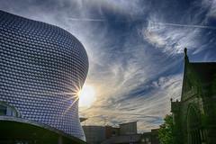 20160725_Birmingham Sun (Damien Walmsley) Tags: birmingham selfridges clouds hdr sunburst stmartinschurch monday