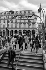 (Tom Plevnik) Tags: bnw blackandwhite candid city flickr human monochrome metro nikon new outdoor public people places photography paris street travel urban