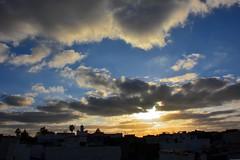 Azemmour Sunset (Olivier Simard Photographie) Tags: maroc morocco africa azemmour médina berbère afrique medina berber couleurs colors riad coucherdesoleil sunset ville town ciel sky nuages clouds soleil sun minaret kasbah soirée désert heaven heat evening azemmur oumerrabiaa
