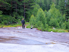 Not much water now at summertime. (topzdk) Tags: motorcycle mc norway honda bmw nature solvgardencottages brokke rysstad 2016 summer