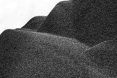 Urban hills (Maxi Winter) Tags: abstract abstrait abstrakt blackandwhite noiretblanc schwarzweis hgel hills collines texture textur industrialarea industriegebiet zoneindustrielle