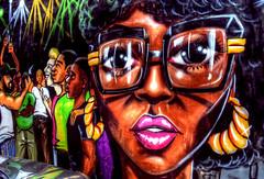 Street Art Beauty (Tryppyhead) Tags: summer england london britain paintshoppro hdr spitalfields eastend topaz eastlondon 2016 photomatixpro4 nikond7200