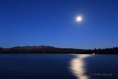 Moonrise over Loon Lake (trifeman) Tags: tokina1116mm tokina 2016 july california enf eldorado eldoradonationalforest canon 7d canon7dmarkii loonlake sierra sierranevada icehouseroad