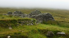 Once a homestead.. (Michael C. Hall) Tags: deserted derelict stone cottage hillside mountain ireland mayo achill slievemore
