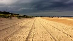 Tracks in the Sands. (Paul Thackray) Tags: beach sand yorkshire tracks bridlington 2016 eastriding