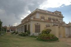 Large residential bungalow (VinayakH) Tags: india gardens royal palace hyderabad royalpalace nizam telangana chowmahallapalace