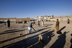 Children playing cricket 9960 (shahidul001) Tags: poor indigent poverty deprived destitute child children kid kids boy boys play fun recreation pleasure game cricket field community home homes pakistani pakistanis horizontal color colour day daylight quetta pakistan southasia asia drik drikimages balochistan