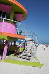 (Gilles LEFEUVRE) Tags: sea usa sun beach holidays florida miami safety artdeco miamibeach floride 2016 canon5dmark2 2016fevrier quartierartdeco