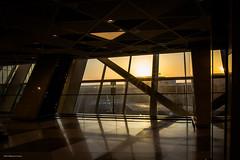 Sunrise (Laszlo Horvath 1M+ views tx :)) Tags: baku airport azerbaijan sunrising lights nikon