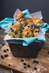 179A4422-1 (den_ise11) Tags: fourth july holiday baking kitchen studio photography alienbees softbox blueberry muffin muffins basket lighting gray black background shadows baked whisk egg flour bake setup fruit fresh made homemade fisheye canon nikon 15mm 35mm