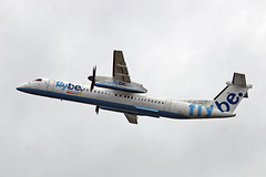 G-JECJ DHC-8Q 402 Flybe MAN 17-07-16 (PlanecrazyUK) Tags: egcc manchester man ringway manchesterairport gjecj dhc8q402 flybe 170716