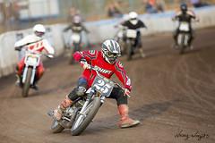 DTRA (FocusedWright) Tags: uk england dusty fence motorbike motorcycle dust motorbikes oval sideways dirttrack motorsport sideburn kingslynn 2016 motorcycleracing dtra dirtquake adrianfluxareana