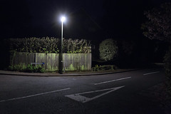 Dead End. (Dan Parratt) Tags: night streetlight streetphotography nightphotography nightscape nightfoto nocturnal streetlamp hampshire england rural nightphoto darkness empty