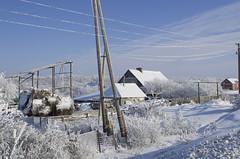 Snowy village (A.Shalaev) Tags: snow winter 2016 januar russia travel sky landscape village