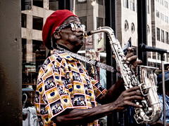 you_saxy_thing (gerhil) Tags: reportage street people portrait candid music performance rnc2016 event fun summer july2016
