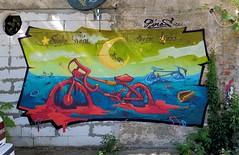 Piros (Walls of Belgrade) Tags: belgrade beograd streetart serbia spraypaint wall graffiti mural piros