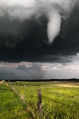 Bennington, Kansas Tornado (Rigsby'sUniquePhotography) Tags: tornado tornadoalley supercell storm thunder lightning canon earth experience landscape stormscape explore stormchaser stormchasing aaronrigsby kansas bennington salina thegreatplains