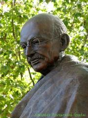 Mohandas Karamchand Gandhi (sciencebase) Tags: london siteseeing summer city