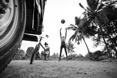 (Kals Pics) Tags: kids boys playtime funtime life people happiness football volleyball pov perspective nemam thiruvallur tamilnadu india cwc chennaiweelendclickers roi rootsofindia trees indianvillages ruralpeople villagelife ruralindia villagepeople rurallife jeep tre bicycle children childhood kalspics