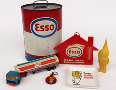 Esso memorabilia (N74 - Toys and other interesting stuff.) Tags: esso exxon essomascot