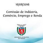 Reuni�o da Comiss�o de Ind�stria, Com�rcio, Emprego e Renda. 16/08/2016