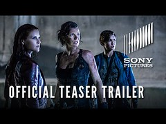 RESIDENT EVIL: THE FINAL CHAPTER - Official Teaser Trailer (Download Youtube Videos Online) Tags: resident evil the final chapter official teaser trailer