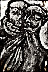 "Painting: ""The exam"" (THE ART OF STEFAN KRIKL) Tags: exam holocaust nazi sorethroat treatment"